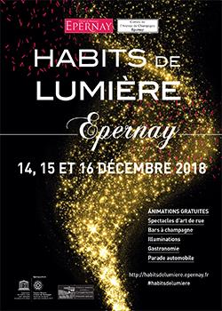 Habits de lumière à Epernay